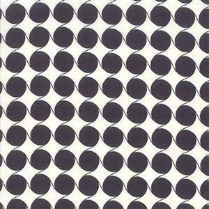 Moda Fine & Sunny Charcoal Swirl Fabric 0.5m