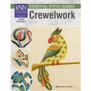 RSN Essential Stitch Guides Crewelwork Book
