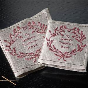 The Cross Stitch Guild Quaker Sampler Book On Belfast Linen