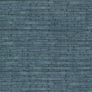 Moda The Blues in Ocean Black Musical Stave 0.5m