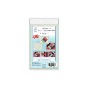 Early Bird Special - Quilt As You Go: 2 1/2 inch Mug Mats. Save £3