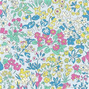Liberty Wisley Flowers Fabric from Flower Show Summer Range 0.5m