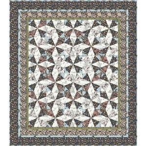 Rachel Hauer Cat Tales Quilt Kit 160x183cm