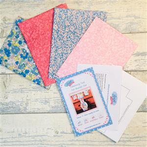 Living in Loveliness Fabulously Fast Fat Quarter Fun Issue 7 – Liberty option 2