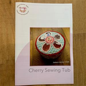 Sallieann Quilts Cherry Sewing Tub Instructions