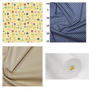 Yellow Tea Cosy & Bird Coffee Cosy Bundle: Fabric (1.5m) & Thermolam