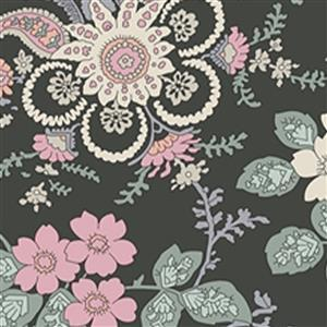 Liberty Hesketh House Collection in Dark Green Fireside Fabric 0.5m