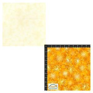 Cream Mixer & Flowers In The Wind Flowers FQ Pack (2pcs)