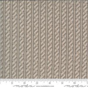 Moda Winkipop Light Grey Stripe Fabric 0.5m