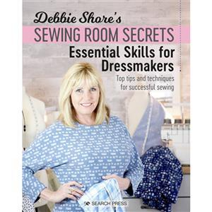 Debbie Shore's Sewing Room Secrets Essential Skills for Dressmakers Book. Signed