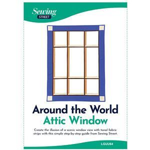 Around the World Attic Window Instructions