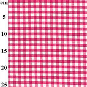 Fuchsia Check 100% Cotton Fabric 0.5m