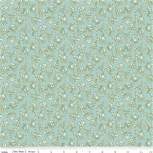 Riley Blake Tea With Bea Sky Hops Fabric 0.5m