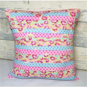 Living in Loveliness Pretty Pleated Cushion Floral Kit