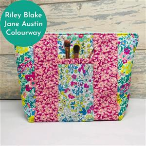 Living in Loveliness Yasmeen Cosmetic Bag - Riley Blake Jane Austin