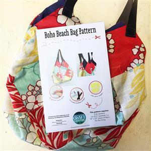 Katharine Wrights Boho Beach Bag Pattern