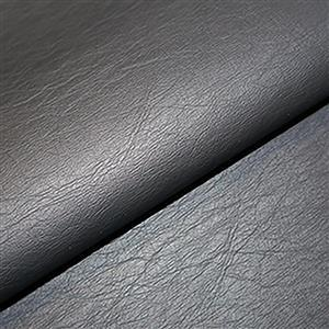 50% Viscose 50% PU Leather Fabric In Black 0.5m
