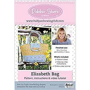 The Elizabeth Bag by Debbie Shore Pattern, Instructions