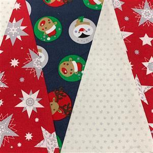 Allison Maryon's Red Penguin Christmas Table Runner Kit