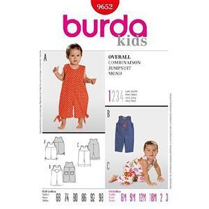 Burda Kids Jumpsuit Sewing Pattern. 6 Months - 3 Years
