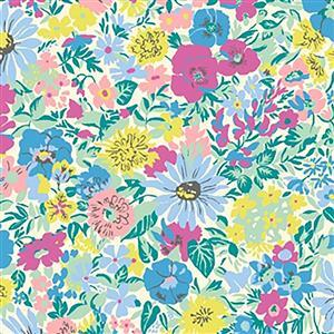 Liberty Malvern Meadow Fabric from Flower Show Summer Range 0.5m