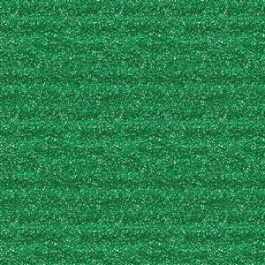 Glitter Effect Plain Emerald Fabric 0.5m