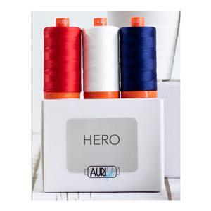 Aurifil Hero Collection Pack of 3 Large Spools