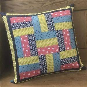 Village Fabrics Rail Fence Two Cushion Kit