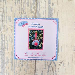 Living in Loveliness Patchwork Baubles Pattern