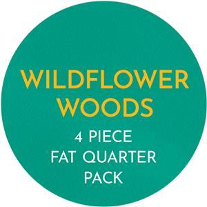 Wildflower woods FQ Pack - 4 Pieces