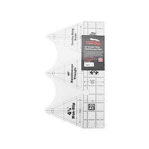 Creative Grids® Non-Slip 45° Double-Strip Kaleidoscope Ruler - 11.4cm (4½