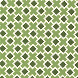Moda Homestead Crosses on Green Fabric 0.5m