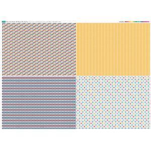 Fruit Punch Fat Quarter Fabric Panel Set 2 - 140 x 108cm