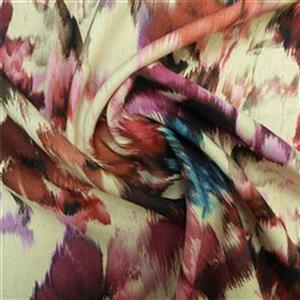 Cream Flowering Lewes Skirt Fabric Bundle (2m)