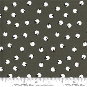 Moda On The Farm - Sheep - Grey Fabric 0.5m