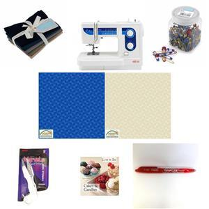 Birthday Special - Elna 320ex Sewing Machine Mega Bundle with Free Goodies worth over £40
