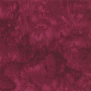 Hoffman Bali Hand-Dyed Batik Ruby Fabric 0.5m