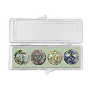 Early Bird Special - William Morris Crystal Magnets Set of 4. Special Price