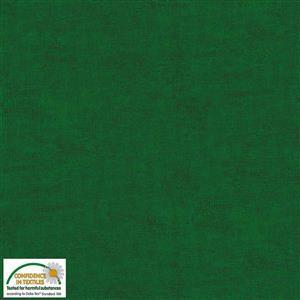 Stof Melange in British Racing Green Fabric 0.5m