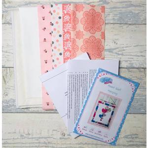 Living in Lovliness Happy Heart Riley Blake Wall Hanging Kit