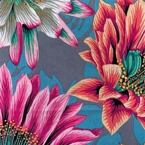 Kaffe Fassett Collective Cactus Flower in Tawny Fabric 0.5m