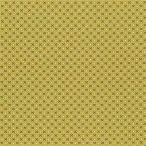 Henry Glass Esters Heirloom Shirtings Green Tint Bows Fabric 0.5m