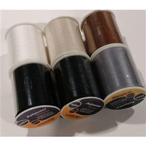 Early Bird Special - Polyester Thread Pack (6 x 160m Spools). Special Price