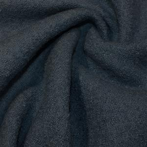 Teal Boiled Wool Fabric 0.5m