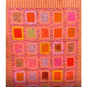 Kaffe Fassett Peach Sunset Quilt Kit 146 x 185cm