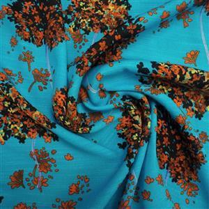 Pimpernal Celeste Viscose Fabric 0.5m