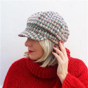 Sewgirl Chelsea Hat Pattern (sizes S,M,L)