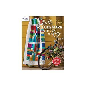 Quilts You Can Make in a Day Book by Annie's Quilting