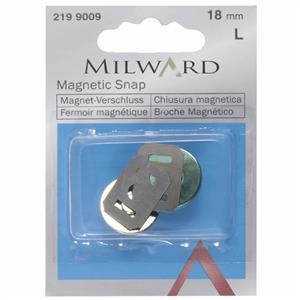 Milward Magnetic Snap in Gold (18mm)