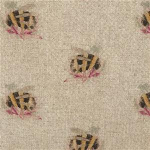 Bombini All-Over Linen Look Fabric 0.5m